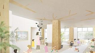 [石川町 認可園]2013.4新規オープンンのアットホームな保育園!